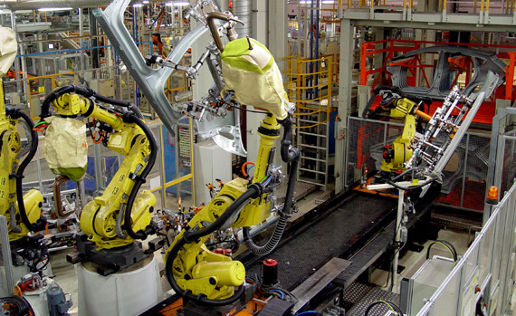Líneas robotizadas (soldadura, prensa, manipulación, encolado y ensamblaje
