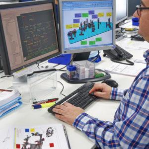 Planificación de harware y software en proyectos llave en mano para automatizar y controlar procesos industriales