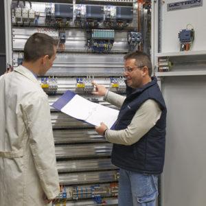 formación y apoyo a la producción en las instalaciones de automatización industrial