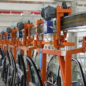componentes Wetron: mandos inteligentes para automotres, electrónica para la automatización de electrovías