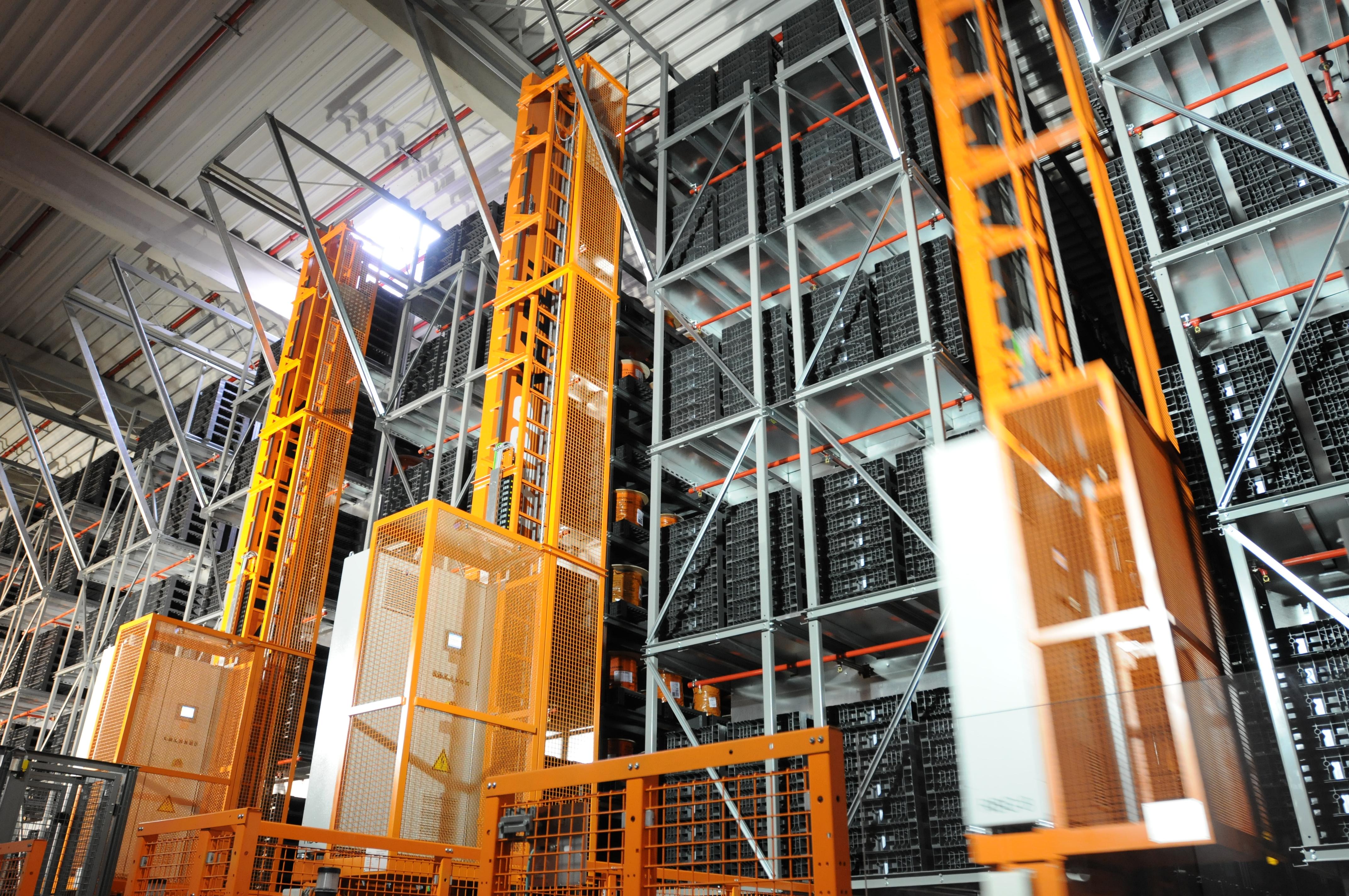 Soluciones Para Almacenes Logísticos Y Centros De Distribución Wetron